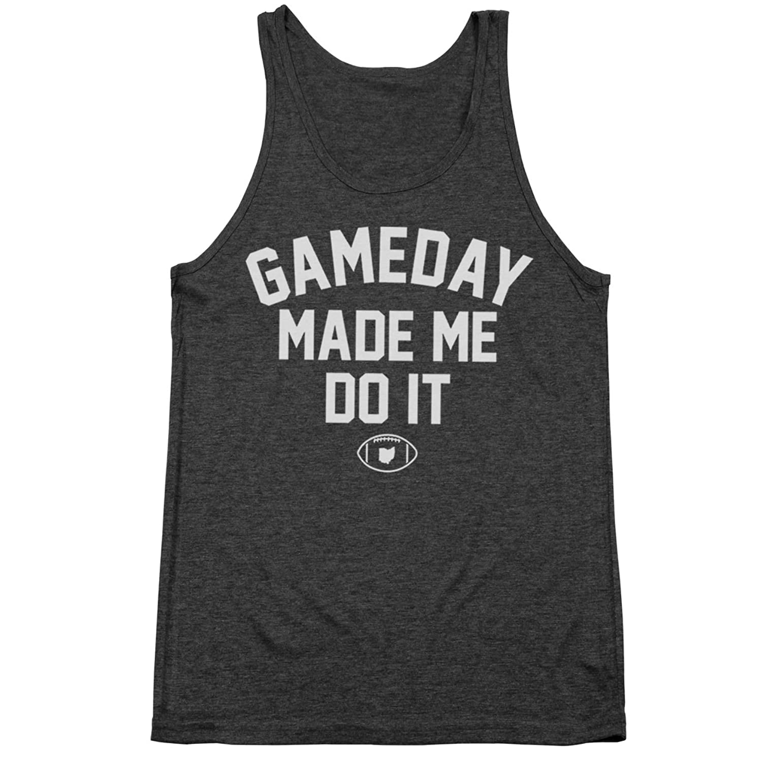 Gameday Made Me Do It Tri-Blend Tank Top