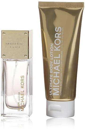 1fc75b599556 Amazon.com   Michael Kors 2 Piece Glam Jasmine Eau de Parfum Spray Gift Set  for Women   Beauty