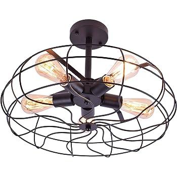 Amazon.com: Design House 519694 Ajax 1 Light Ceiling Light, Bronze on