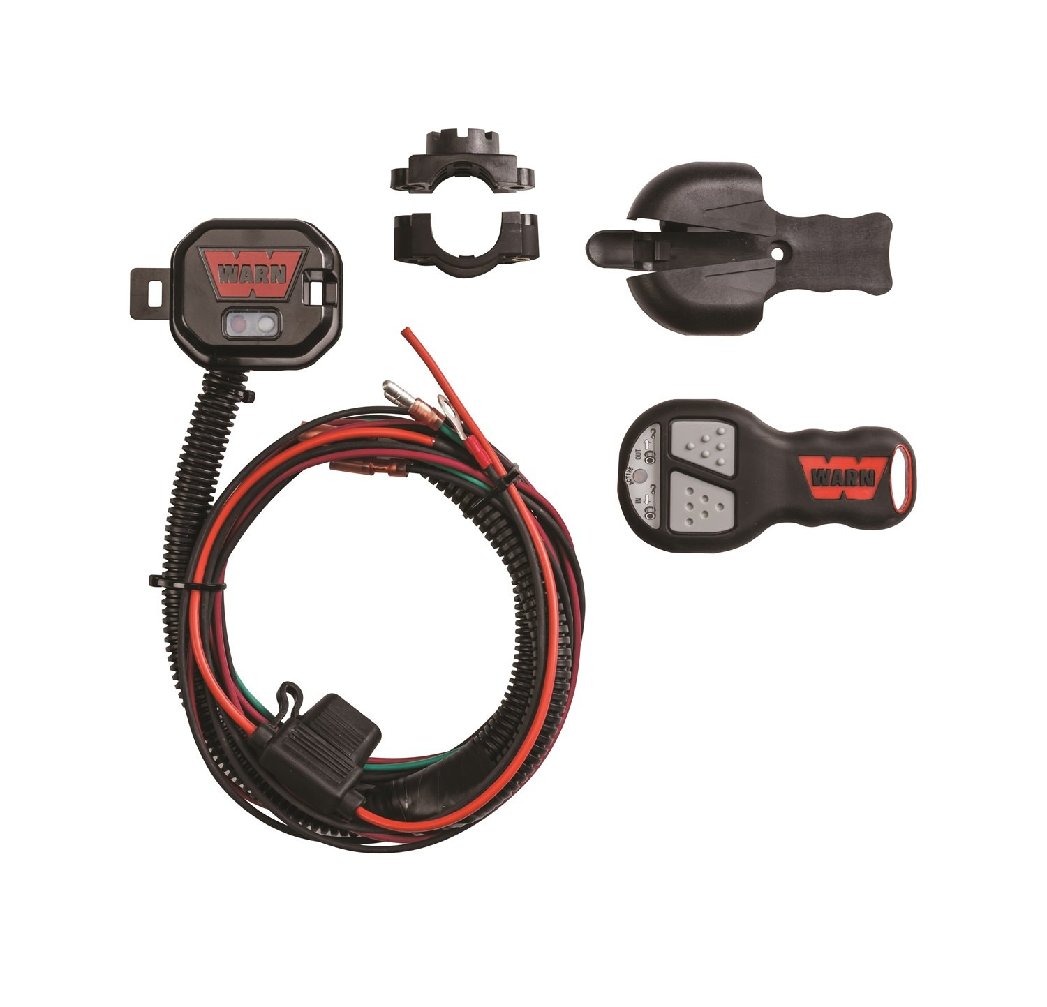 Warn 90288 Wireless Remote For Atv And Utv Automotive Winch Wiring Diagram 4500