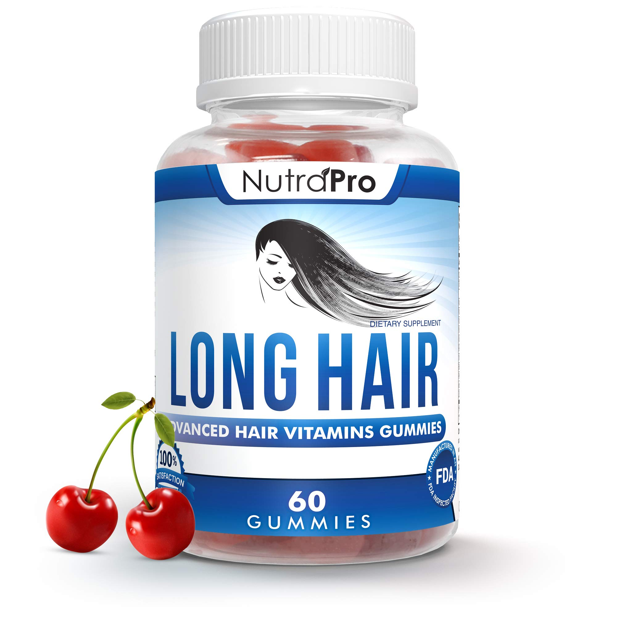 Long Hair Growth Vitamin Gummies-$19 Launch Special – Anti-Hair Loss Supplement for Fast Hair Growth of Weak, Thinning Hair – Grow Long Thick Hair & Increase Hair Volume with Biotin & Zinc Vitamins