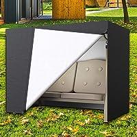 Dightyoho Funda para Balancín y Muebles de Jardín, Impermeable, Anti Rayos UV, Protecrora de Columpio, 160 x 120 x 170…