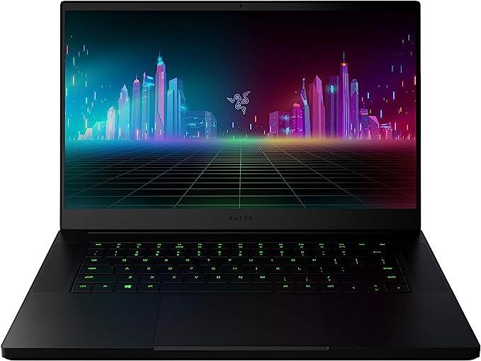 "Razer Blade 15 Base Gaming Laptop 2020: Intel Core i7-10750H 6-Core, NVIDIA GeForce GTX 1660 Ti, 15.6"" FHD 1080p 120Hz, 16GB RAM, 256GB SSD, CNC Aluminum, Chroma RGB Lighting, Thunderbolt 3, Black | Amazon"