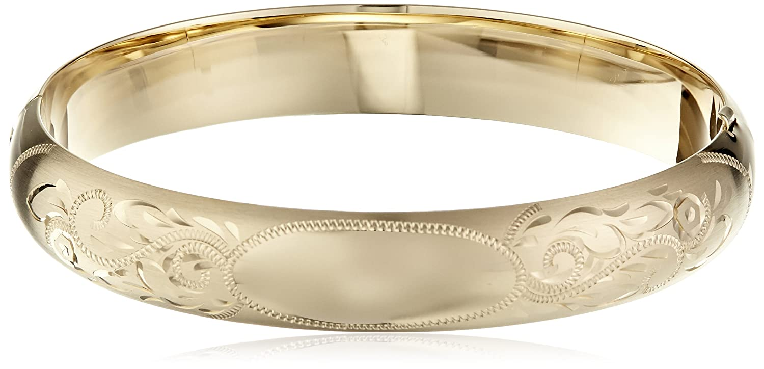 kors gallery braceletgoldtone narrow in metallic gold bangle lyst michael jewelry bracelet goldtone product hinged