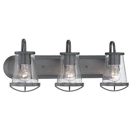 87003-WI Bathroom Lighting, Darby 3 Light Bath Vanity - - Amazon.com