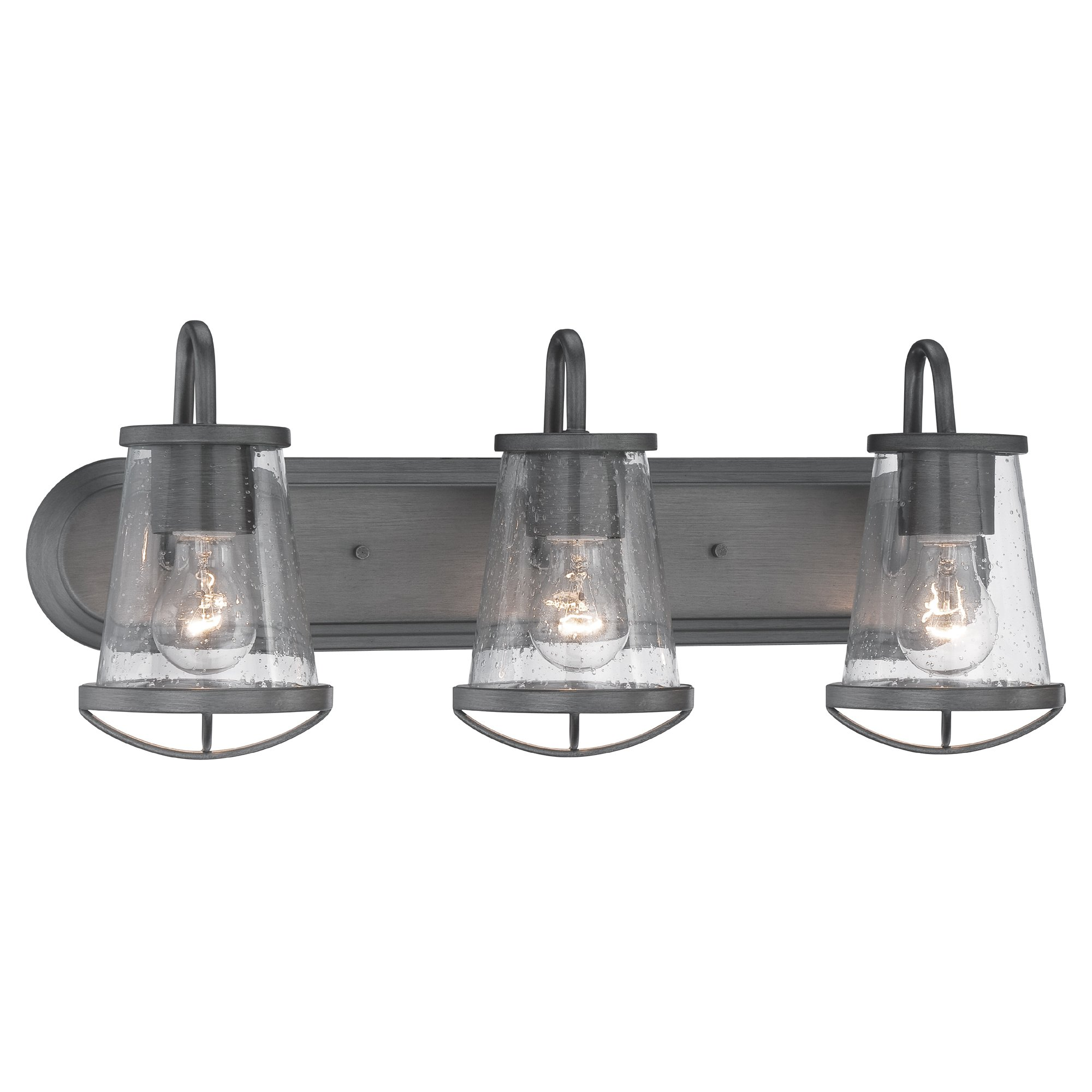87003-WI Bathroom Lighting, Darby 3 Light Bath Vanity by Designers Fountain
