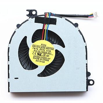 DXCCC 683651-001 Ventilador refrigerador de Repuesto para Ordenador portátil HP 4440s 4441s 4445s 4446s 23-10605.001: Amazon.es: Informática