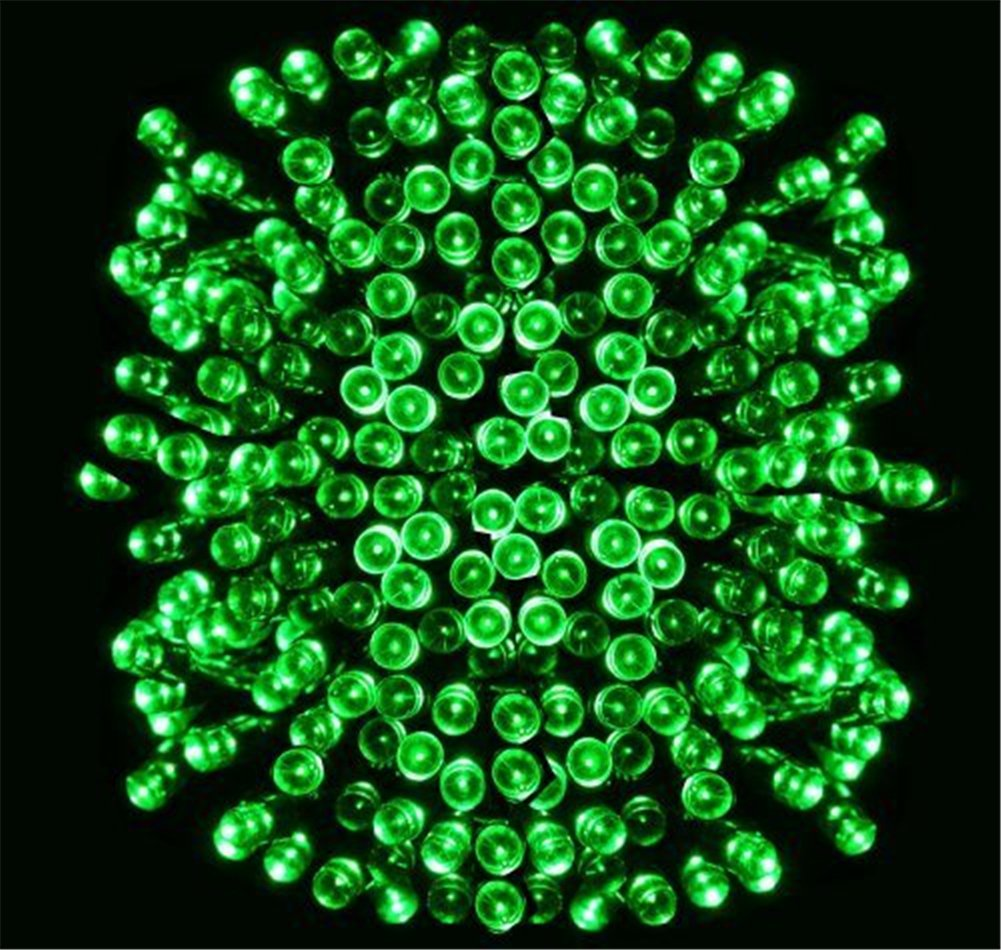 Green solar powered led string light ambiance lightingsolar fairy green solar powered led string light ambiance lightingsolar fairy string lights for outdoor gardens homes christmas party green aloadofball Image collections