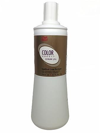 Amazon Com Wella Perfect 6 Percent Stabilized Cream Developer Hair