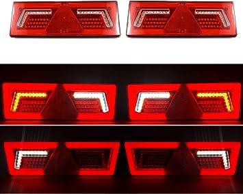 omologate 2 luci di posizione a LED da 24 V per camion