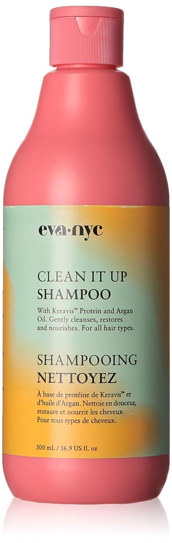 Eva NYC Clean It Up Shampoo, 16.9 Ounce