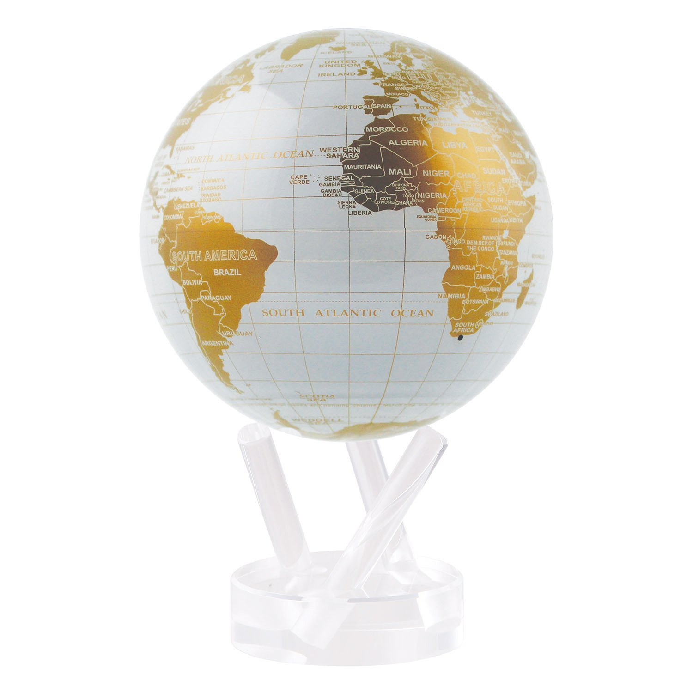 MOVA Globe 4.5'' White and Gold by Mova