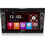 Pumpkin 7 Inch 2 Din Car Audio Stereo Support DVD Player,GPS, Bluetooth, Steering Wheel Control, Radio, USB SD, Subwoofer, AUX, Cam-In for Opel Vauxhall Corsa Vectra Astra (Free 8GB Map Card Included)