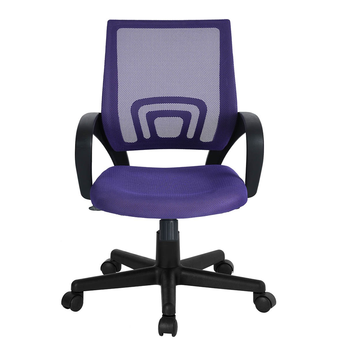 Ergonomic High-back Mesh Swivel Computer Office Chair (Purple)