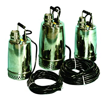 AMT Pump 02XH5 Submersible Pump, Stainless Steel 304, 1/2 HP, 115V, Curve  B, 2