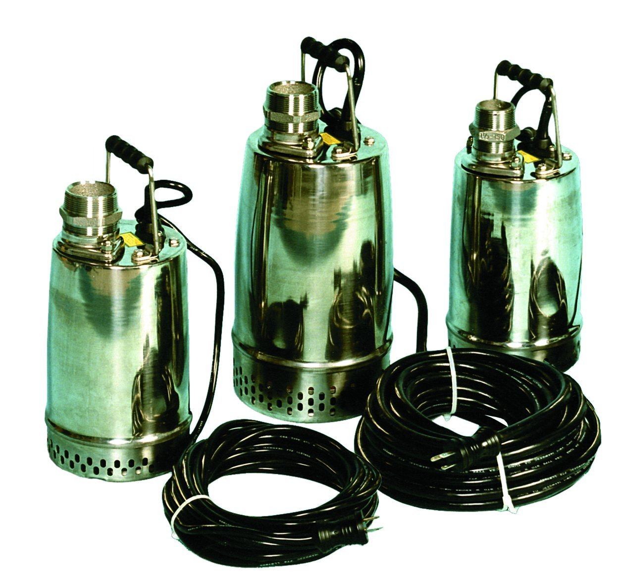 AMT Pump 02X11 Submersible Pump, Stainless Steel 304, 1 HP, 115V, Curve C, 2'' NPT Male Discharge Port