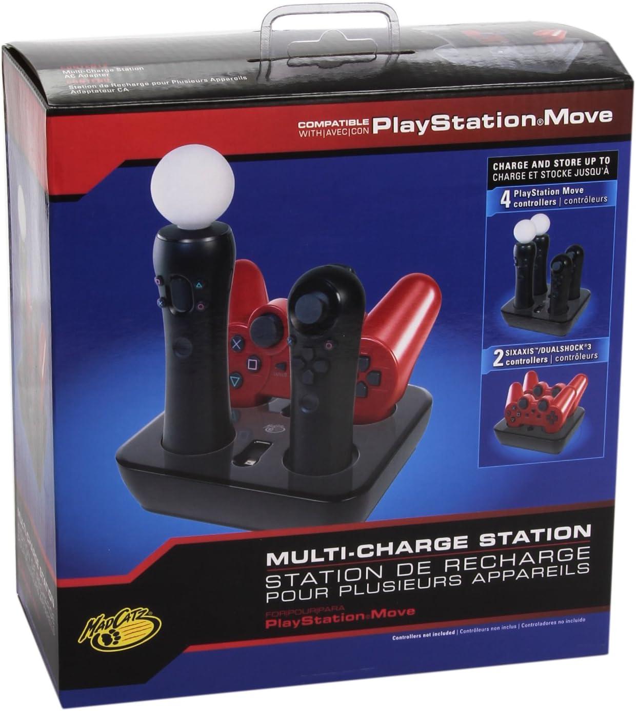 Mad Catz - Move Charge Station (PS3): Amazon.es: Videojuegos