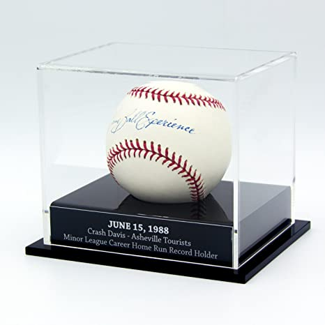 Sports Mem, Cards & Fan Shop Official Website High Quality 9 Baseball Glass Display Case For Autographed Balls Little League A Wide Selection Of Colours And Designs Display Cases