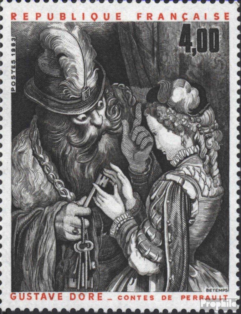 Malerei Briefmarken f/ür Sammler kompl.Ausg. Prophila Collection Frankreich 2406 1983 Gustave Dore