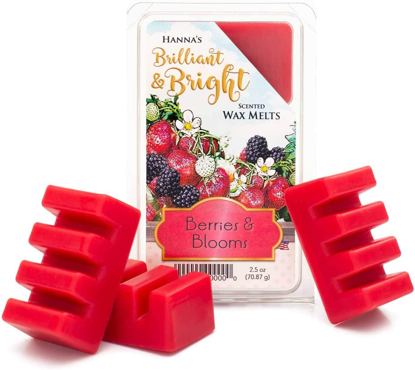 Candlemart by Hanna's Candle Company Berries & Blooms Scented Wax Melts