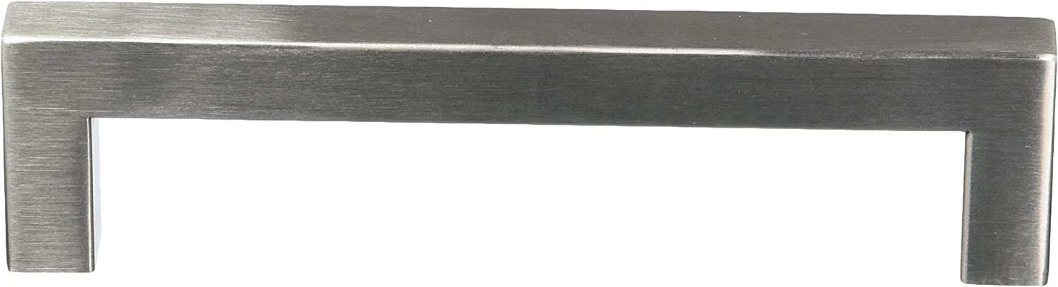 RCH Hardware H-C128H-128-SSB Ultralight Stainless Steel Rectangular Bar Pull Handle for Cabinets and Drawers 5 1//2 | 140mm