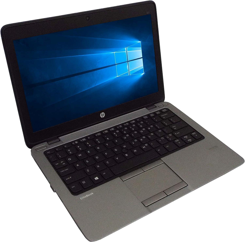 HP EliteBook 820 G2 12.5in 1366x768 HD Laptop, Intel i7-5600U 2.60GHz, 8GB DDR3 RAM, 256GB SSD, Windows 10 Pro x64 (Renewed)