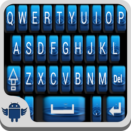 Water Drop Keyboard (Best Paid Keyboard For Android)