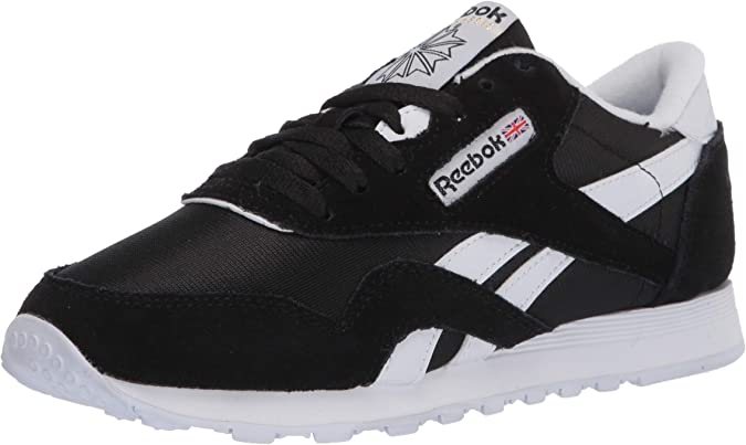 reebok black white shoes