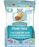 Fever-eez Cool Care Forehead and Body Wipes for Kids and Babies, 32 Count (1)