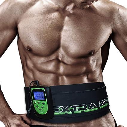 TESMED 7.7 Extra Belt elettrostimolatore per modellare il corpo e la cintura addominale. 8 programmi specifici per l'allenamento e la tonificazione dell'addome.