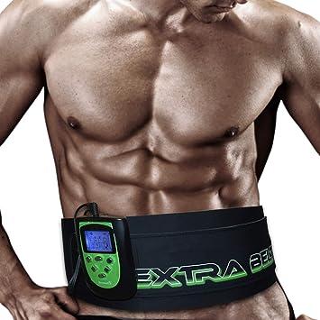 outlet più economico prezzo più basso con TESMED 7.7 EXTRA BELT elettrostimolatore: Cintura per addominali con  stimolazione muscolare elettrica (EMS) - 8 programmi specifici per  l'allenamento ...