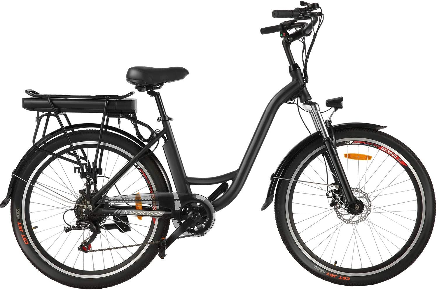 Speedrid ebike 26″ Electric City Bike with Removable 12.5Ah Lithium-ion Battery WAS £849.99 + £20 delivery NOW £799.99 + £20 with £50 voucher on listing @ Amazon