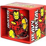 Logoshirt Marvel Comics–Iron Man Mug de café–présenté dans un COFFRET Cadeau