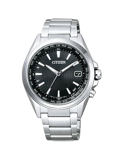 Citizen - Reloj de Pulsera para Hombre Radio Controlled analógico de Cuarzo Titan cb1070 - 56E: Amazon.es: Relojes
