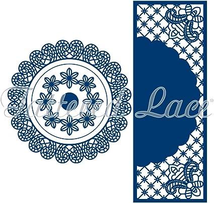 Tattered Lace Diamond Grid Die Set
