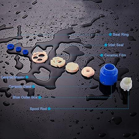 Cartucho para Grifo, Cartucho de Cerámica para Válvula de Grifo Monomando(40mm): Amazon.es: Bricolaje y herramientas