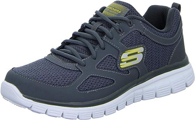 perturbación creencia algun lado  Amazon.com   Skechers Men's Burns Agoura Sneaker   Fashion Sneakers