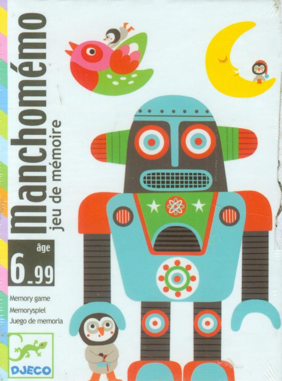 Djeco - Cartas manchomemo: Amazon.es: Libros en idiomas ...