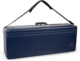 Crossrock CRA860TSBK Tenor Saxophone Case- Contoured ABS Molded with Backpack Straps, Black