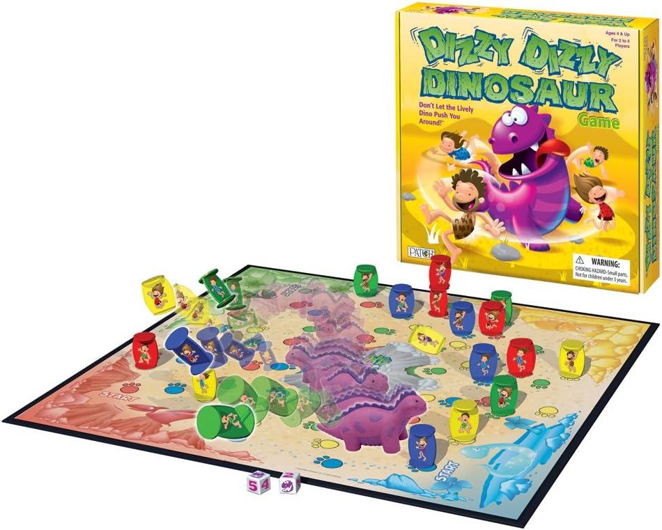 Amazon Com Dizzy Dizzy Dinosaur Toys Games