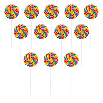 Large Swirl Lollipops 12 Ct (each) - Party Supplies: Toys & Games