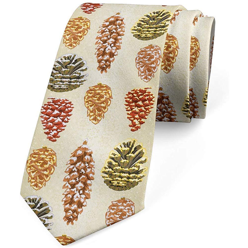 Corbata, semillas de abeto nevado Art, cáscara de huevo y ...