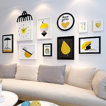 Amazon.com: WUXK Simple modern scandinavian photo wall Wall ...