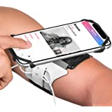 VUP Running Armband for iPhone 11 Pro Max X XR XS 8 7 6 6s Plus,Galaxy S10 S9 S8 Plus, Note 9/8/5/4,Google Pixel 3/2 XL…