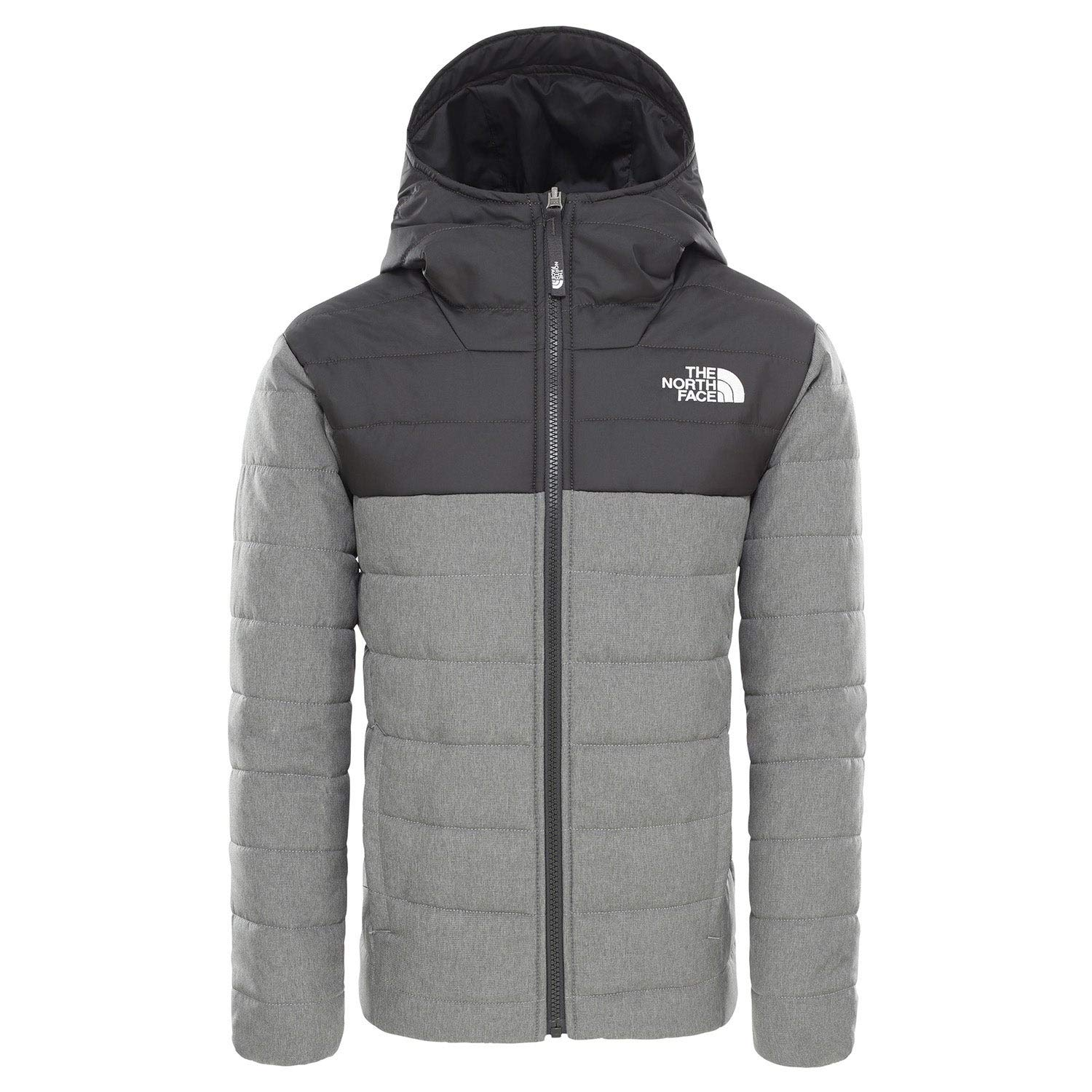 The North Face Little Kids/Big Kids Boys' Reversible Perrito Jacket, TNF Medium Grey Heather, Medium by The North Face