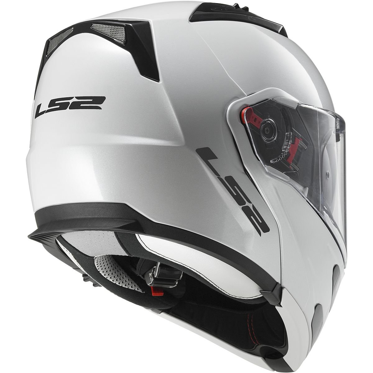 Amazon.com: LS2 Helmets Metro Solid Modular Motorcycle Helmet with Sunshield (White, X-Small): Automotive