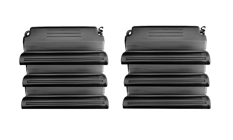well2wellness® Hochwertiges Pool Eisdruckpolster Set - 6 Stück mit Sand beschwert + Verbindungshaken Pool + Sauna Bräunig GmbH