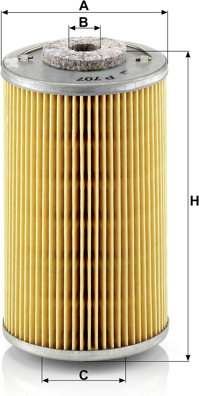 P707 Mann Kraftstofffilter Dieselfilter für Kramer 1160217