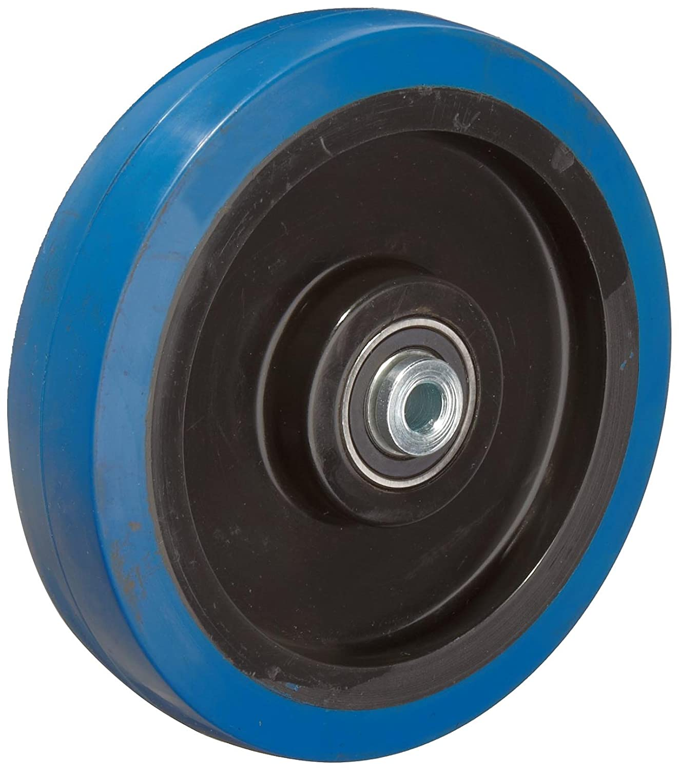 RWM Casters Signature Premium Rubber Wheel Precision Ball Bearing