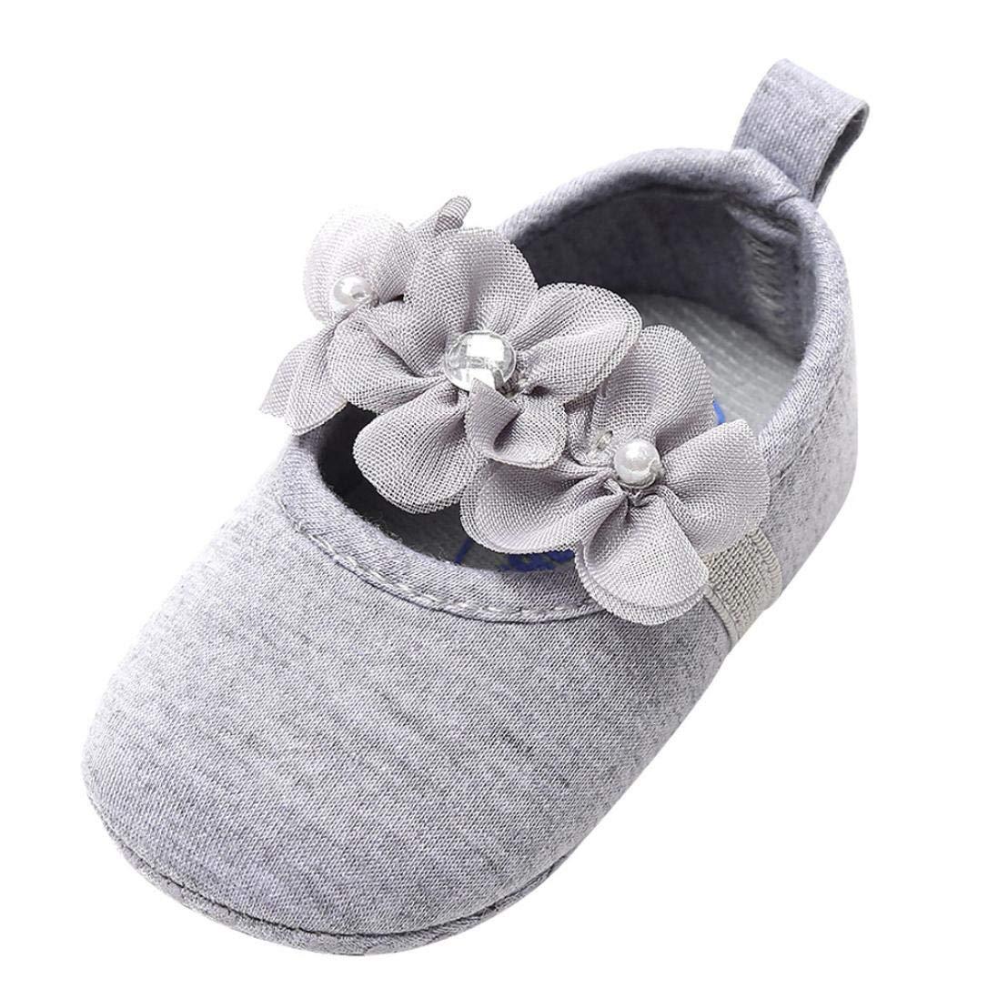Zapatos Bebe Niña Primeros Pasos Perla Algodón Zapatos para Recien ...